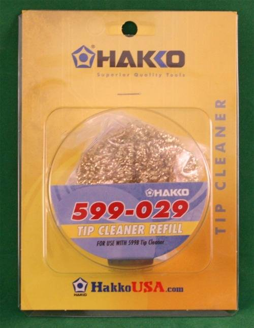 wire insert refill for hakko soldering iron tip cleaner better than a spong. Black Bedroom Furniture Sets. Home Design Ideas