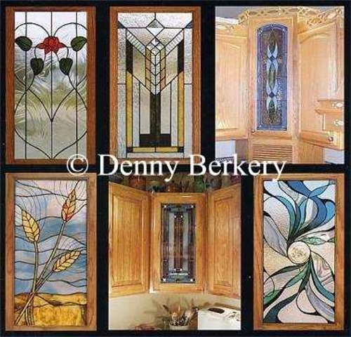Beautiful Stained Glass Cabinet Doors Exterior